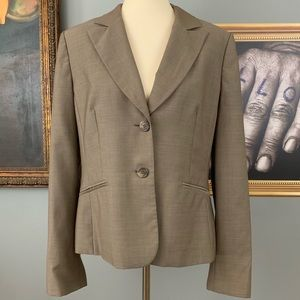 Ann Taylor Loft Light Weight Tan Blazer